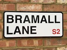 SHEFFIELD UNITED BRAMALL LANE STREET SIGN PERFECT XMAS GIFT FOR THE BLADES FAN