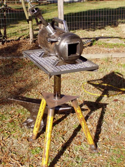 how to build a metal forge