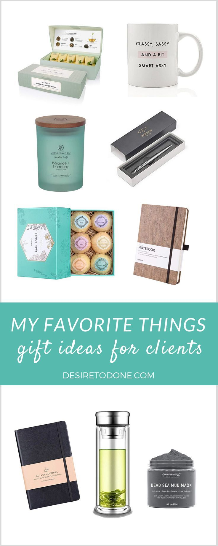 my favorite things: gift ideas for clients (classy edition | virtual