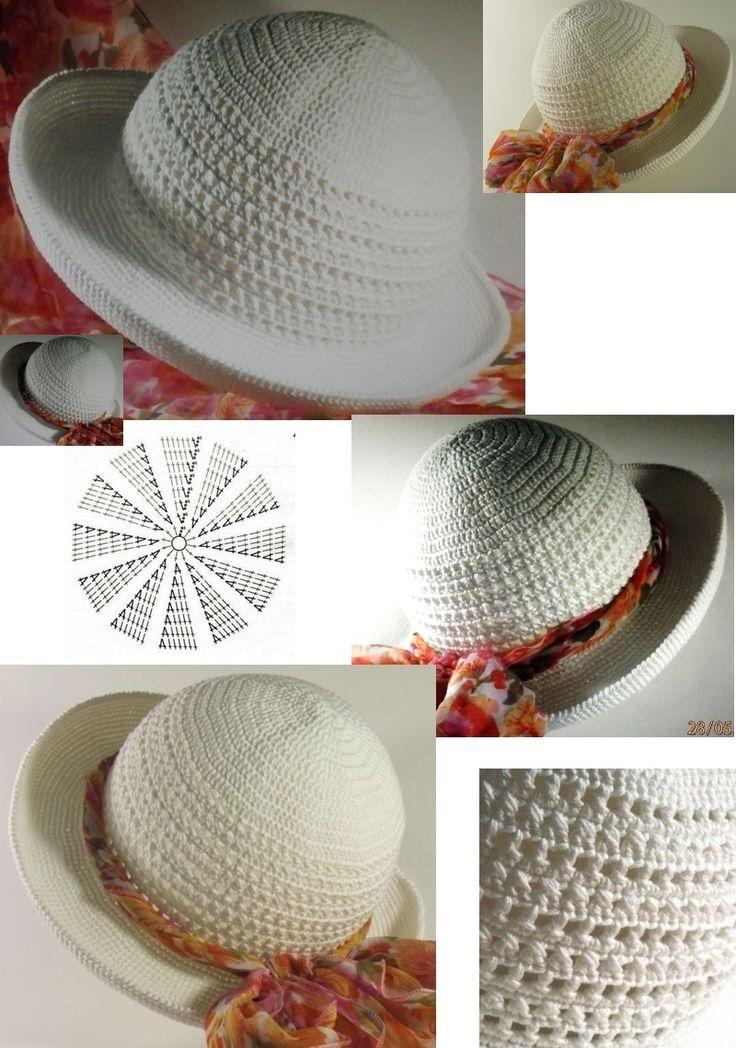 57 best crochet hats images on Pinterest | Crochet hats, Hats and ...