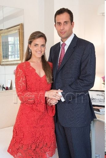 Princess Amelia of Orleans Braganza announces her engagement to James Spearman June 25, 2014