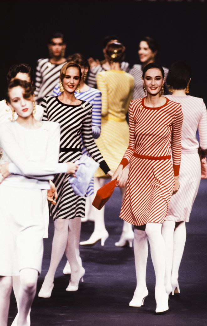 Défilé Sonia Rykiel printemps-été 1989