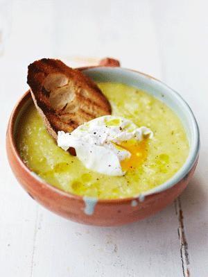 Jamies Cook Clever - Lauch-Kartoffel-Suppe - Rezeptbild