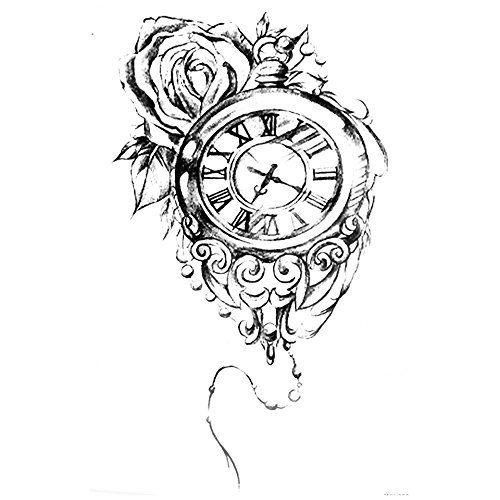 Les 25 meilleures id es concernant tatouage croix pour hommes sur pinterest dessins tatouage - Tatouage horloge homme ...
