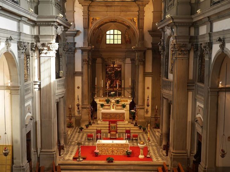 The Church of Santa Felicita in Florence is witnessed seventeen centuries of history, religion and art.
