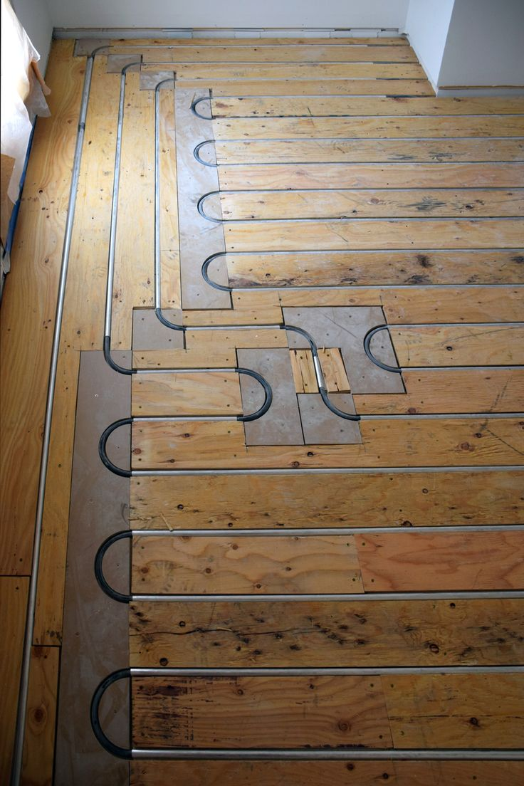 Thermofin extruded aluminum heat transfer plates are the state of thermofin extruded aluminum heat transfer plates are the state of the art for radiant heated floors the plywood sleepers over the fins and pex pro dailygadgetfo Choice Image