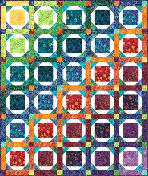 Salt Water Taffy Designer Pattern: Robert Kaufman Fabric Company