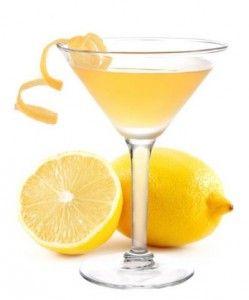 YELLOW    Lemon Drop Martini    1 1/2ouncesvodka  1/2ouncetriple sec  1teaspoon superfinesugar  3/4ouncefresh lemon juice  Splash of Sprite  Garnish with superfine sugar, for the martini glass rim & lemon twist