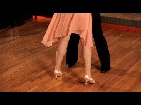 ▶ How to Do Basic Foxtrot Steps | Ballroom Dance - YouTube
