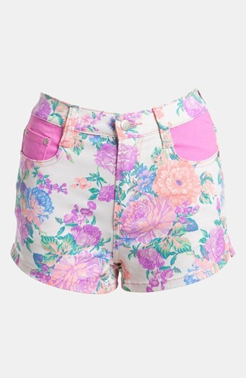 MINKPINK 'Electric Field' High Waist Shorts available at #Nordstrom- So cute! Spring 2013!!!