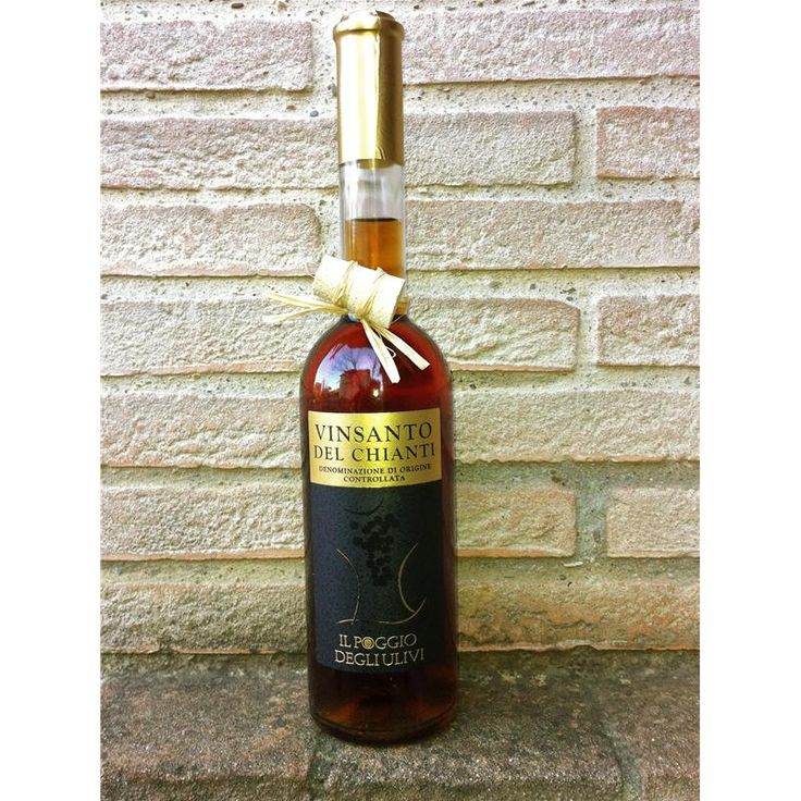 Our own Vin Santo del Chianti. Really typical from Tuscany, dessert wine.