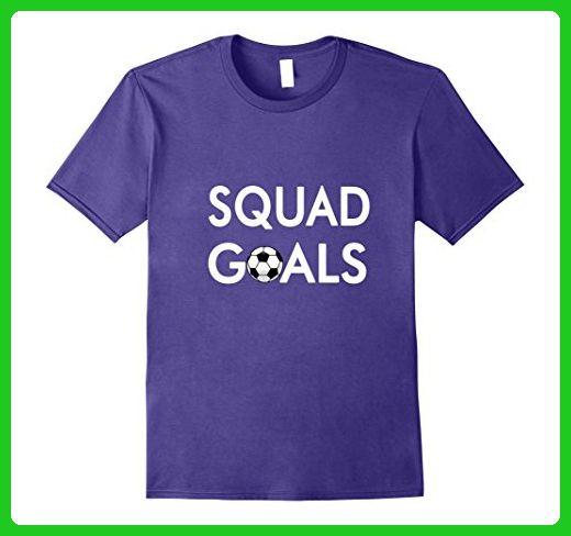 Mens Soccer Shirt - Squad Goals Medium Purple - Sports shirts (*Amazon Partner-Link)