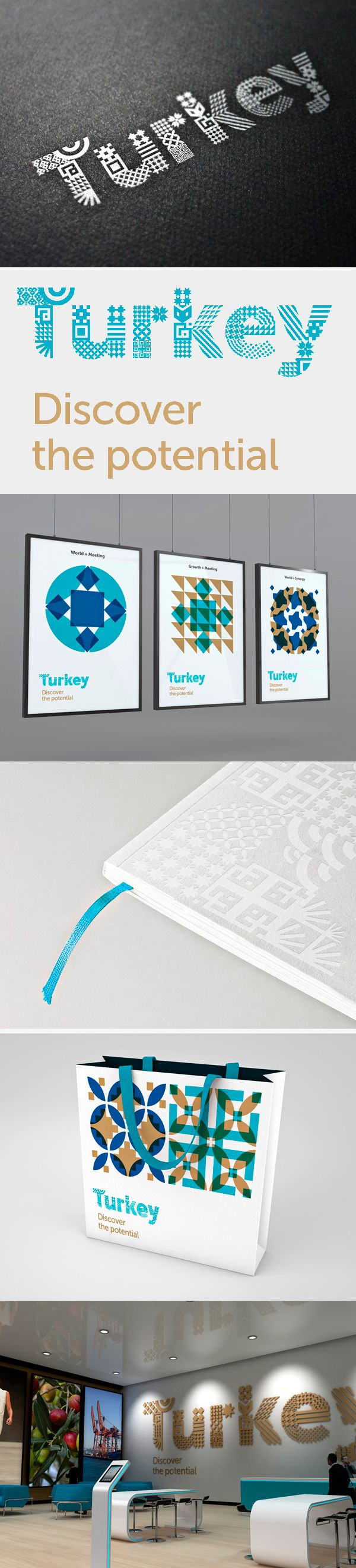 identity / Turkey -a bit too abstract to reflect Turkey, but pretty to look at..