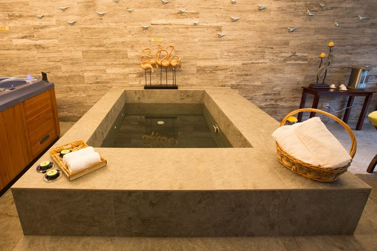 The cool plunge #pool ! #wellness #health #resort  retreat #holiday #vacation