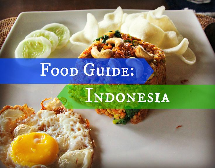 From nasi goreng to bubur injin, spicy sambal and sweet gado gado, Indonesian food can be summed up in one simple word: delicious.