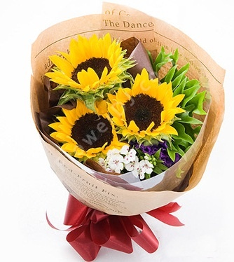 Graduation Flower Bouquet 畢業花束 HKD $180