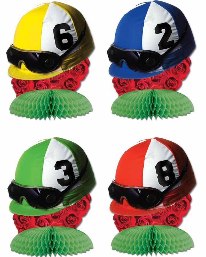 Melbourne Cup Jockey Hat Centrepieces