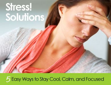 5 tips on how to be stress free - don't mind if I do!