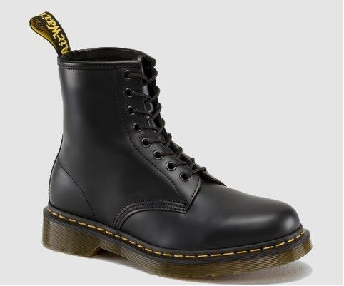 Authentic Dr . Martins Martens 1460 BLACK SMOOTH Men's Boots R11822006 Free Shipping $80.00