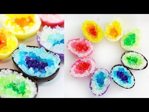 GEODE Chocolate Eggs! CHOCOLATE EASTER EGGS | RECIPE - YouTube