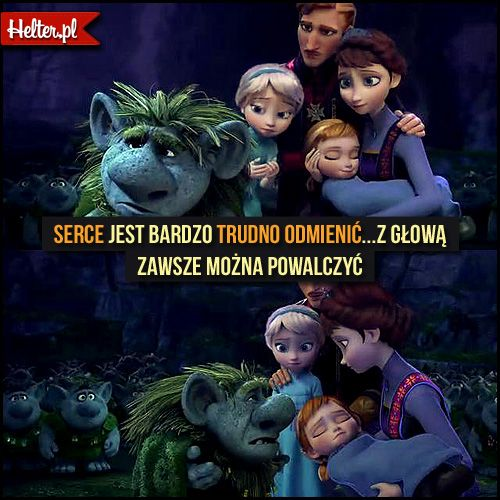 Cytaty Filmowe z Filmu Kraina Lodu - Frozen - Disney HELTER