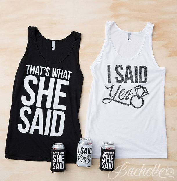 Funny Bachelorette Party Tank Tops