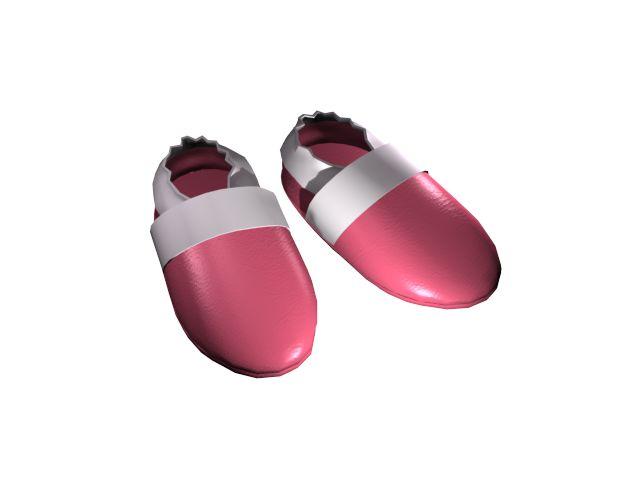 Puhatalpú babacipő színek - Sötét rózsaszín