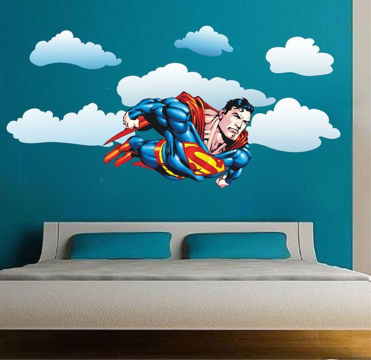 25 Best Ideas About Superman Bedroom On Pinterest Boys Superhero Bedroom Superhero Room And