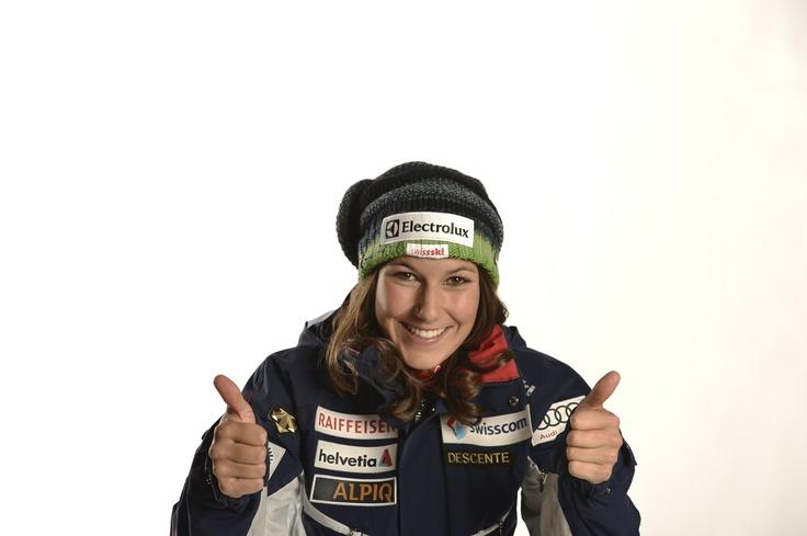 Electrolux ist Sponsor der sypathischen Skifahrerin Wendy Holdener