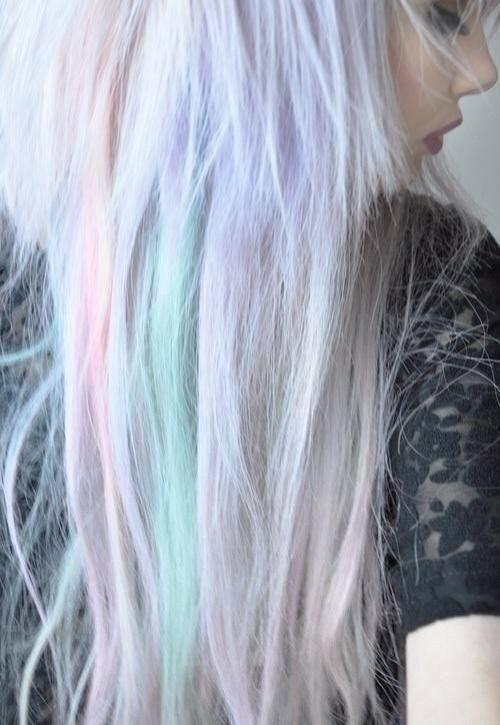 Like cam you not #pastel #pastelhair #repin #pinkhair #rainbow #rainbowhair
