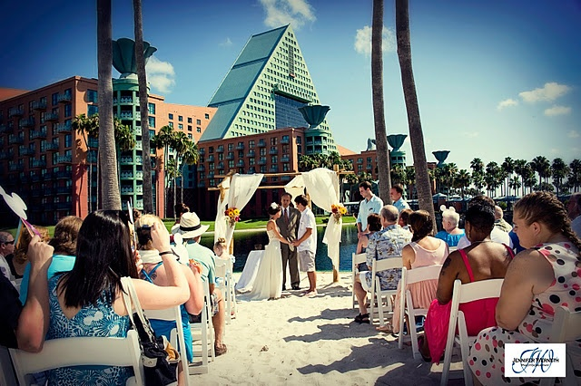Dolphin beach hotel wedding