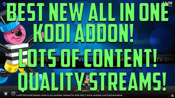 THE BEST NEW ALL IN ONE ADDON FOR KODI 2016 - 4K MOVIES - 3D MOVIES - SP...