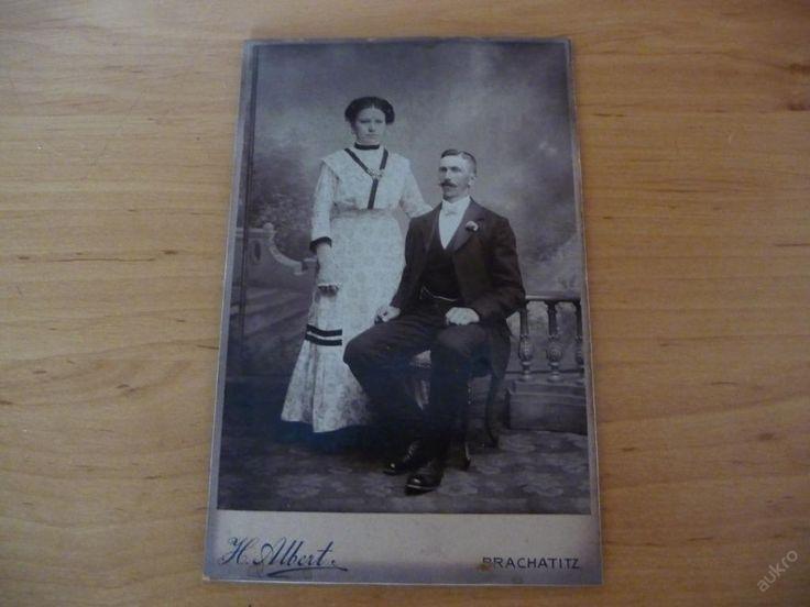 Stará rodinná fotografie - H.Albert - Prachatitz