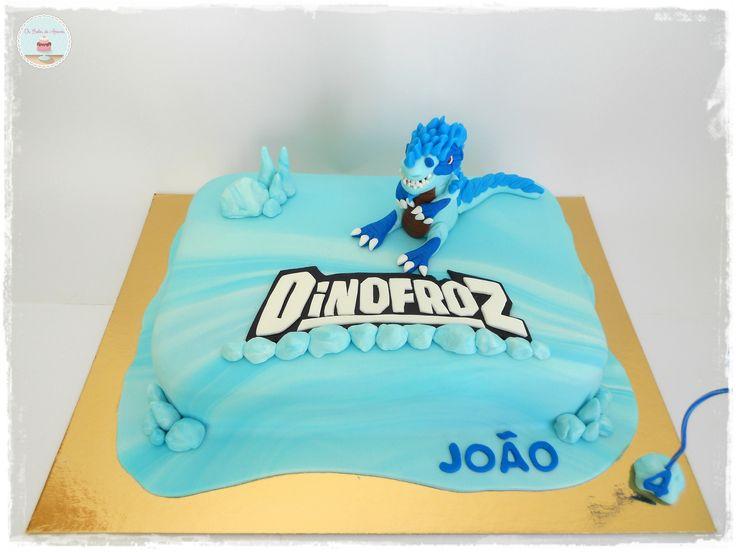 Dinofroz Cake