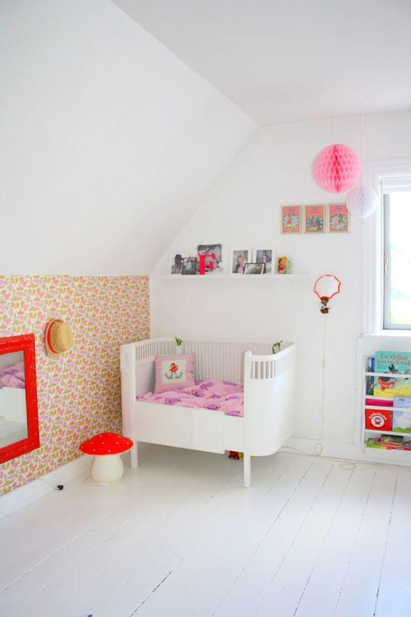 Ideias para redecorar o quarto depois que os bebes crescem for Bedroom wallpaper designs b q