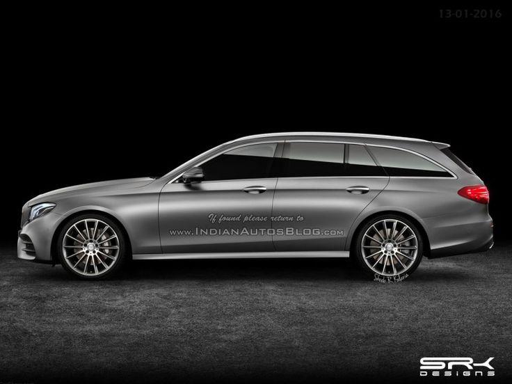 2016 #Mercedes E-Class Estate – #IAB #Rendering