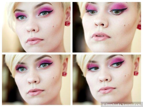 Летнее помешательство или яркий макияж в розово-фиолетовых тонах