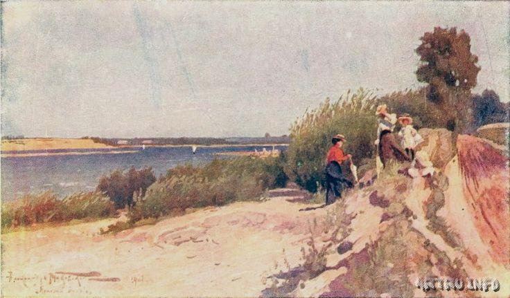 Маковский Александр Владимирович (Россия, 1869 – 1924)Цехоцинек. Красный крест (на границе)