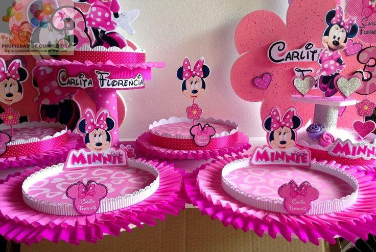 182 best images about decoracion cumplea os on pinterest - Cumpleanos minnie mouse ...