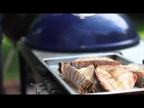 Learn #howto #grill a #Lobster on a @WeberBraai in this short video. #braai #Seafood #Delicious #Food #cooking