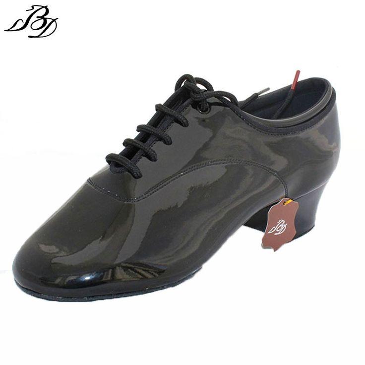 (62.99$)  Buy here  - Dancesport  BD Dance 417 Men Latin Dance Shoes split Sole  Patent Practice Competition Dancing Shoe Improved Heel Ballroom Shoes
