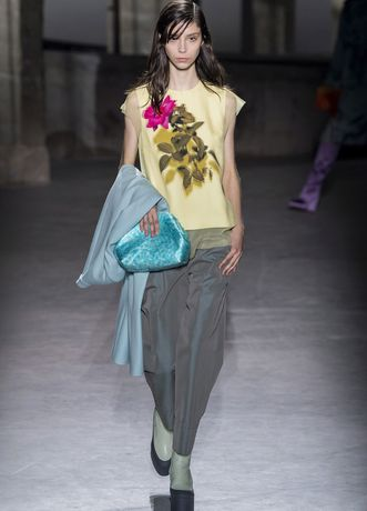 fashion week paris herbst winter 2019 20 dries van noten elle