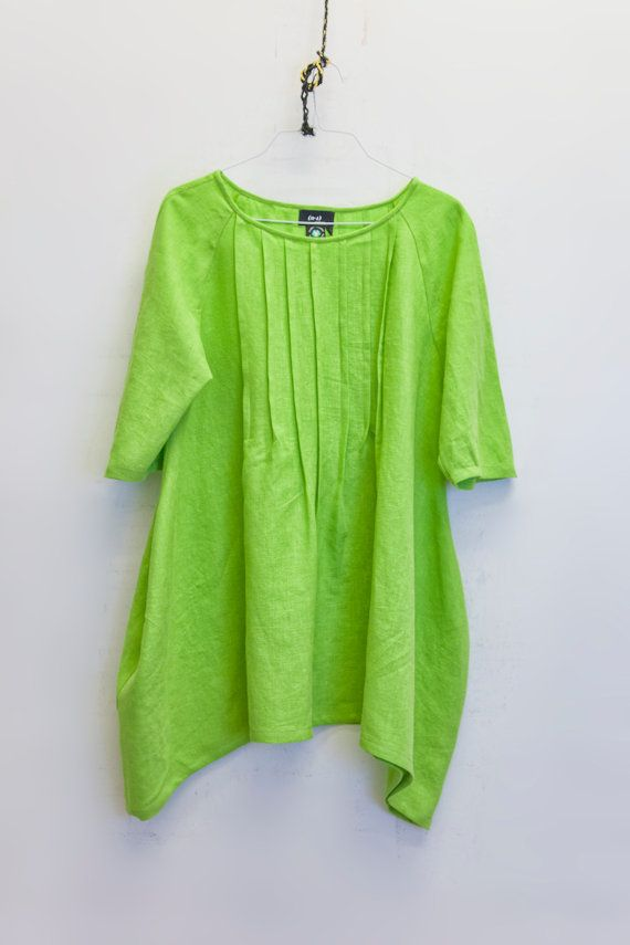 Lime Green Blouse Womens 18