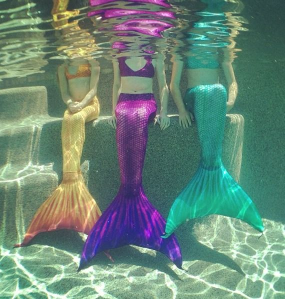 mermaids, mythological creatures