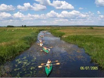 Biebrza River near Sztabin