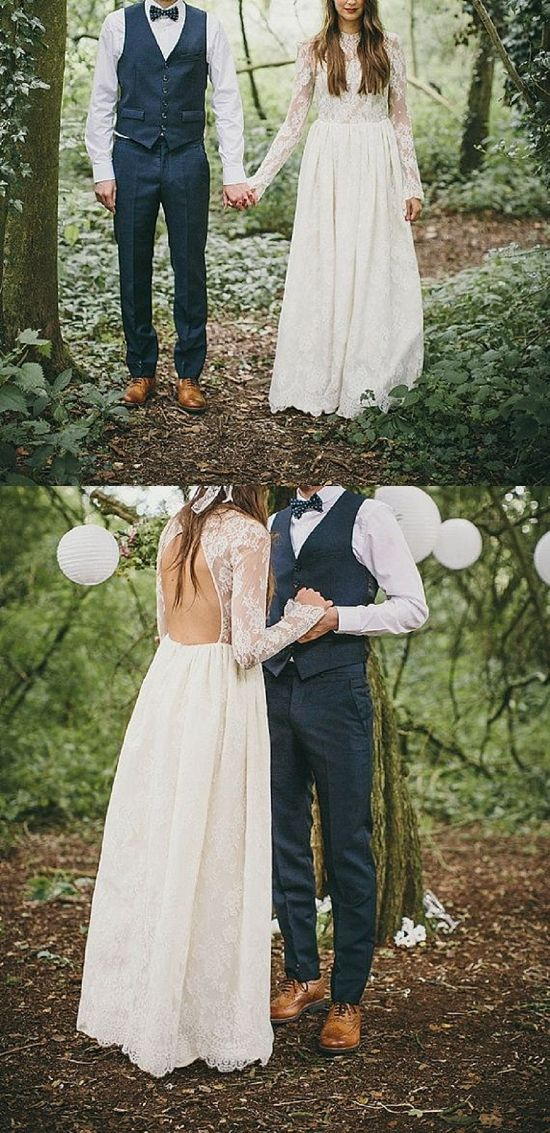 Pinning this for groom outfit 15 Alternative Wedding Dresses For Under $1000 | Paper and Lace