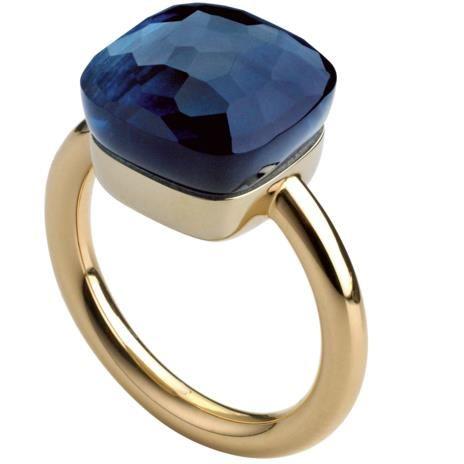 Pomellato nudo ring, something blue. (London blue topaz stone) Avaliable at Orsini Jewellers.