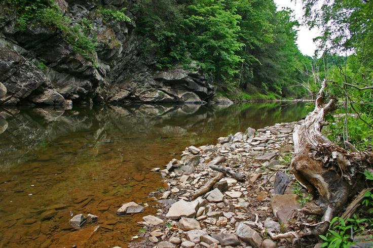 Sideling Hill Creek. Photo by Kai Hagen.Sidel Hills, Hills Creek