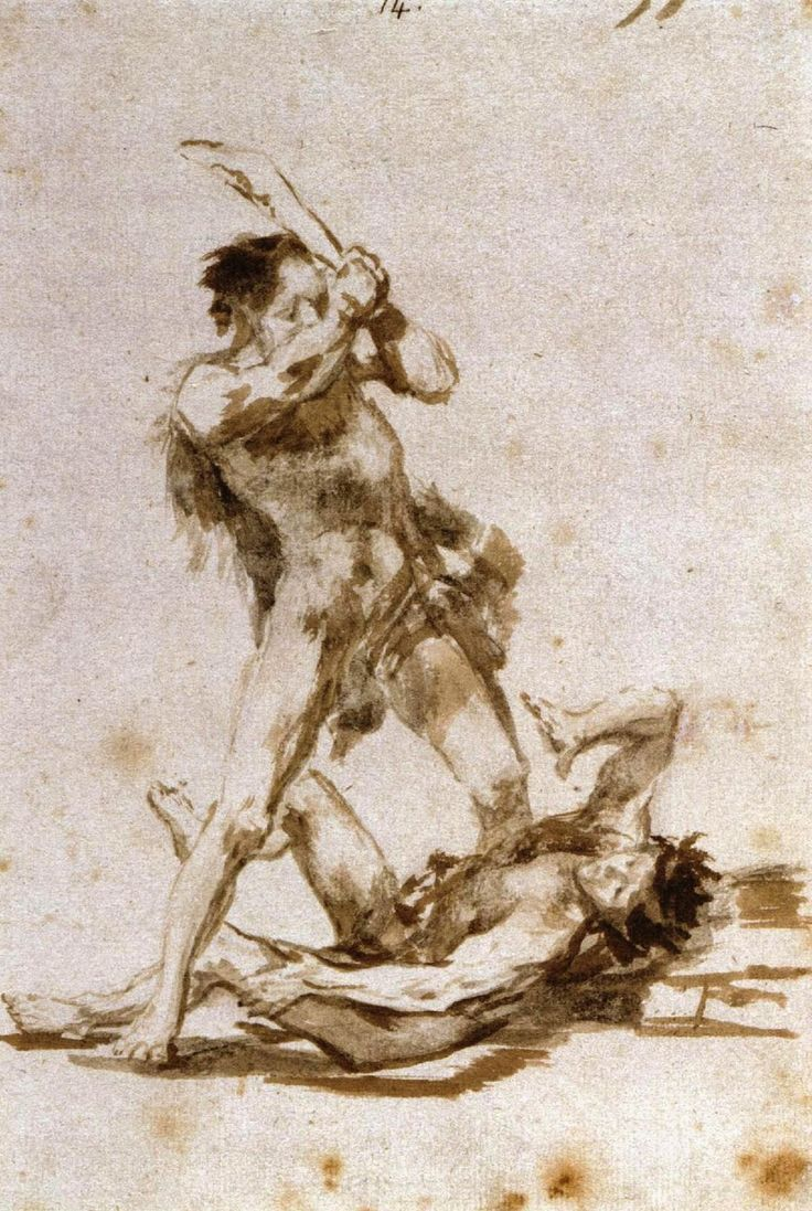 Δυο άνδρες παλεύουν