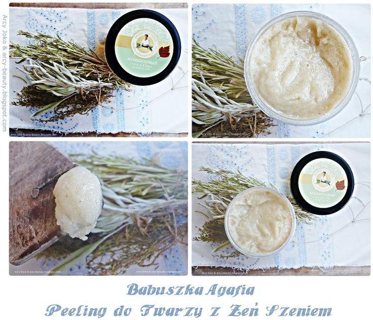 Babuszka Agafia Peeling z Żeń Szeniem  #babuszkaagafia #peeling #cosmetics #kosmetyki